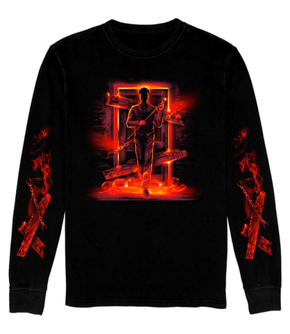 LONG SLEEVE Scary Door *LIMITED RUN*