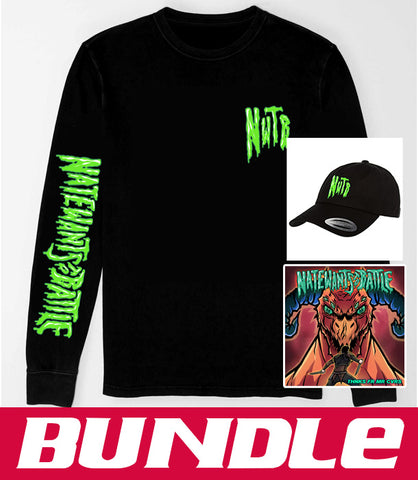 BUNDLE Thnks Fr Mr Cvrs Audio CD + Long Sleeve T-Shirt + Dad Hat *LIMITED RUN*