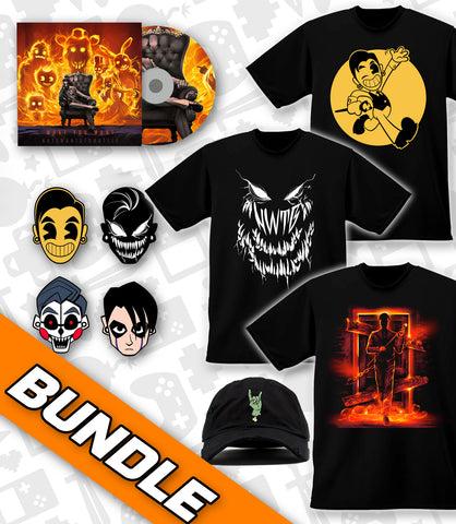 What You Want ULTIMATE BUNDLE 1: 3 T-SHIRTS + HAT + PIN SET + CD *LIMITED RUN*