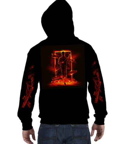 ZIP UP HOODIE Scary Door *PRE-ORDER*