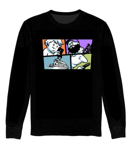 LONG SLEEVE SHIRT Grand Theft Funni Boys *LIMITED RUN*