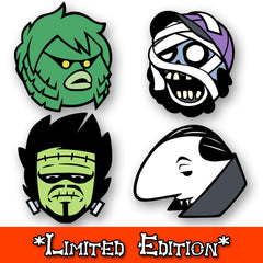 Monster Boys Pin Set *LIMITED EDITION*