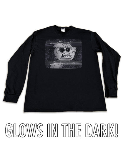 LONG SLEEVE Creepypasta VHS Oney GLOW IN THE DARK *LIMITED RUN*