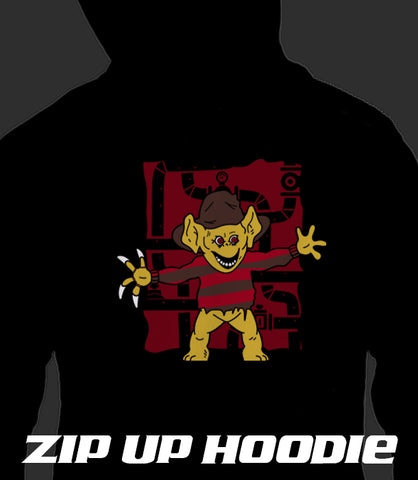 ZIP UP HOODIE Nightmare on Freak Street *LIMITED RUN*