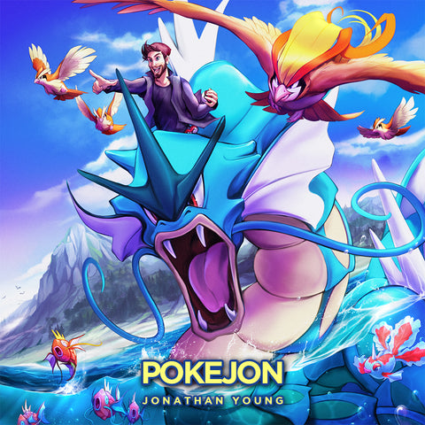 Pokéjon (Jonathan Young) AUDIO CD