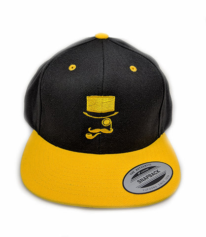 SWE Logo Black and Yellow Snapback