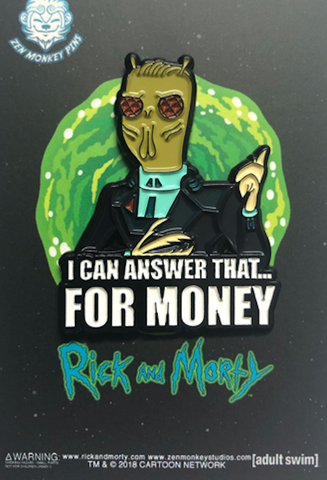 I Can Answer That..For Money Pin