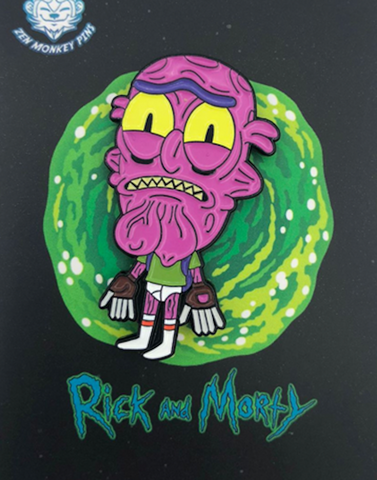 Scary Terry in Undies Pin