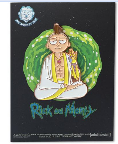 The One True Morty Pin