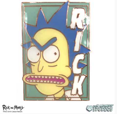 Rick Pastel Series Pin