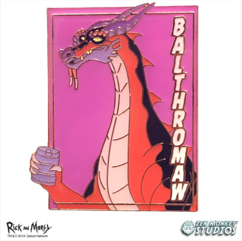 Balthromaw: Pastel Series Pin