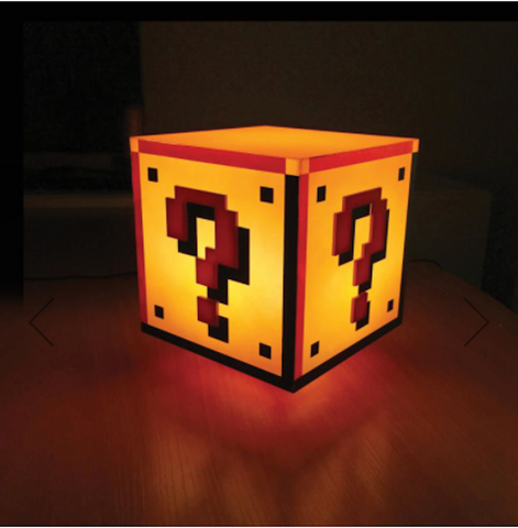 Question Block Night Light