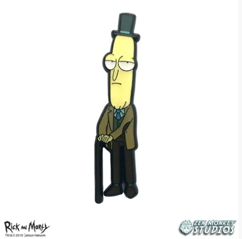 Professor Poopy Butthole Pin
