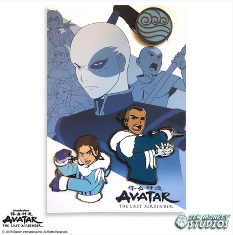 The Last Airbender: Book 1 - Limited Edition Pin Set