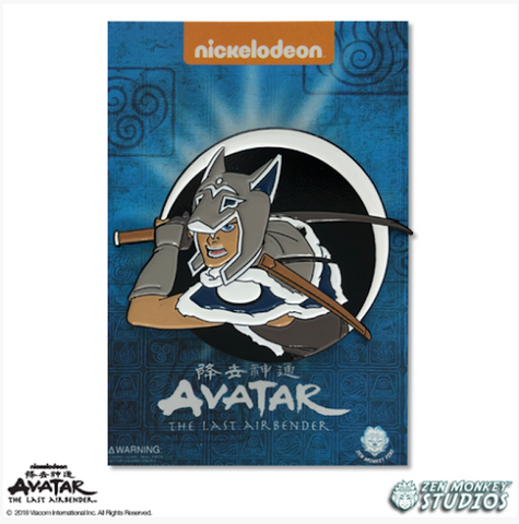 Sokka - Avatar's Day Of Black Sun Pin