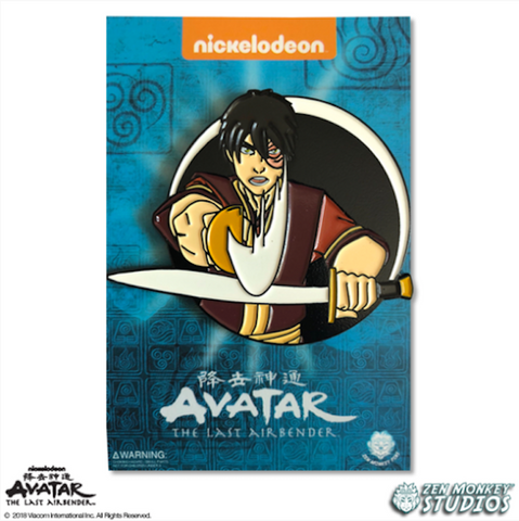 Zuko - Avatar's Day Of Black Sun Pin