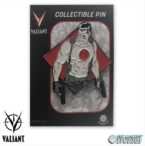 Diamond Bloodshot - Valiant Comics' Collectible Pins