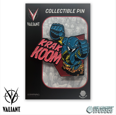 KRAK-KOOM! - Valiant Comics' Collectible Pins