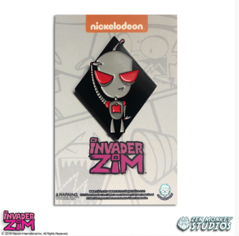 Engaged Gir - Invader Zim Pin