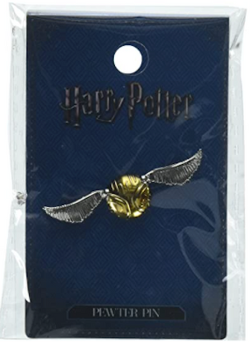 Harry Potter Snitch Pewter Lapel Pin