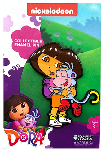 Dora and Boots - Dora The Explorer Pin