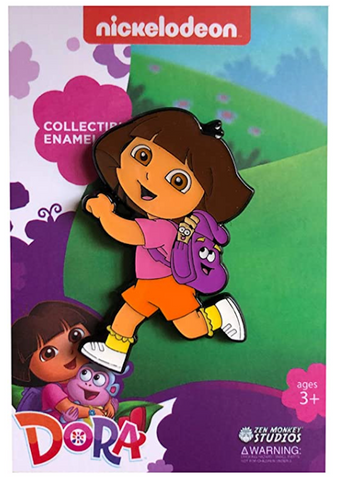 Running Dora - Dora The Explorer Pin