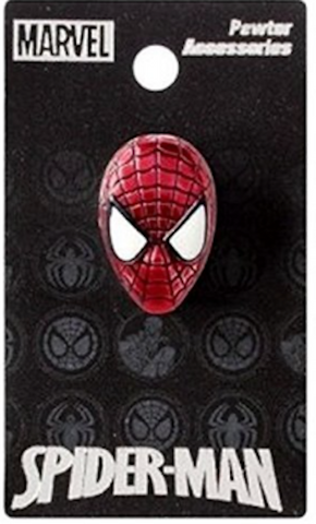 Spiderman Colored Pewter Lapel Pin