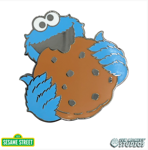 Cookie Monster's Big Cookie - Sesame Street Pin