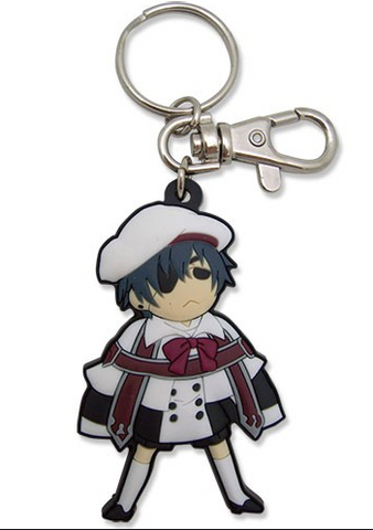 Black Butler: Ciel School Outfit Keychain