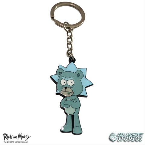 Teddy Rick - Rick and Morty Keychain