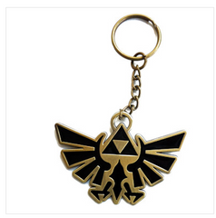 Nintendo Zelda Twilight Princess Black Key Chain