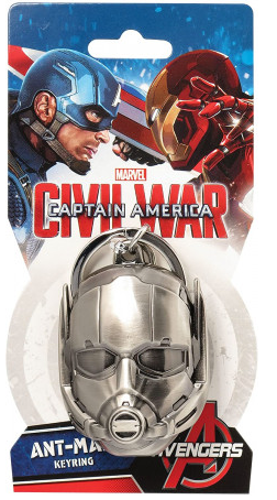 Marvel: Ant-Man Mask Pewter Keychain