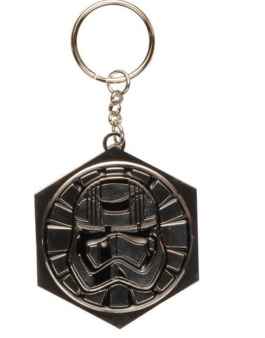 Star Wars Captain Phasma Metal Keychain