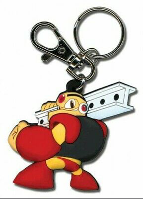 Mega Man 10 Powered Up Guts Man Keychain