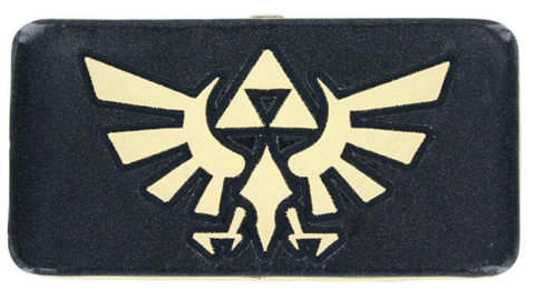 Nintendo Legend of Zelda Glitter Triforce Hinge Wallet *CLEARANCE*