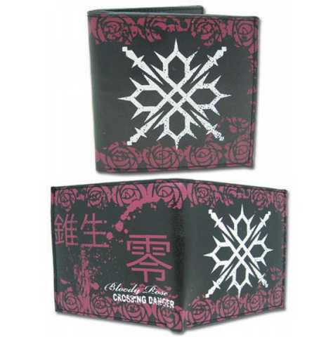 Vampire Knight: Zero's Tattoo Bi-Fold Anime Wallet