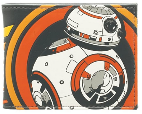 Star Wars Episode VII The Force Awakens BB-8 Bifold Wallet