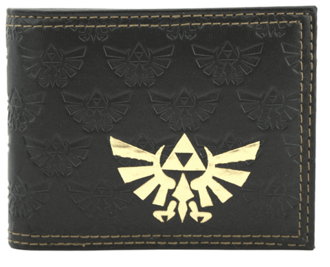 Nintendo Legend of Zelda Twilight Princess Embossed Bi-Fold Wallet