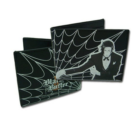 Black Butler 2 Claude Bifold Wallet
