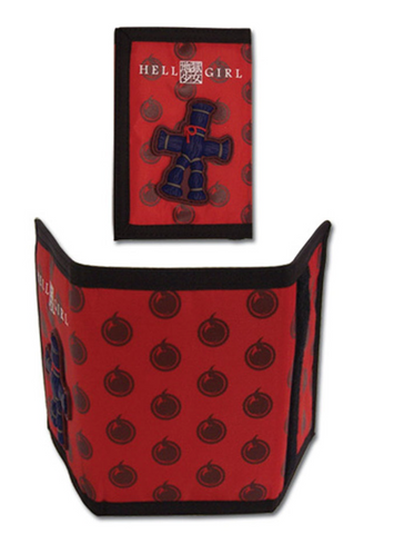 Hell Girl - Straw Doll Red Wallet