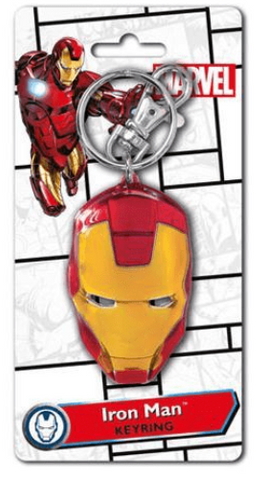 Marvel Comics Iron Man Mask Keychain