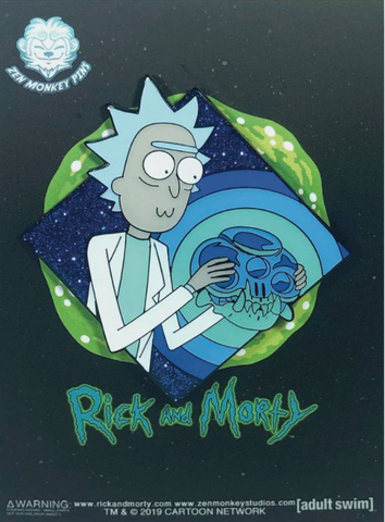 Rick and Morty & The Crystal Skull Of Horowitz