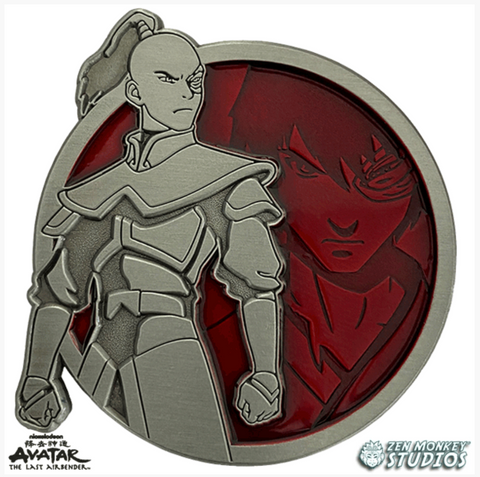 Zuko - Portrait Series (Translucent Pin): Avatar The Last Airbender Pin