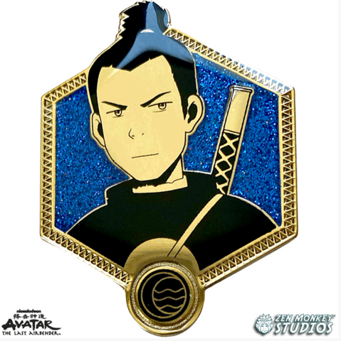 Golden Sokka - Avatar The Last Airbender Pin