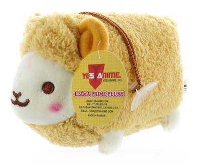 "Prime Fluffy Sheep 6"" with Sound Plush (Khaki)"