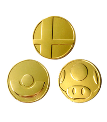 Smash Bros Pins Set 1