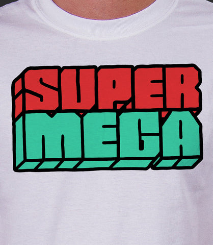 SuperMega Logo (WHITE)