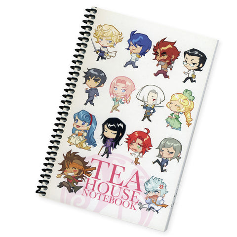 Teahouse Spiral Notebook *CLEARANCE*