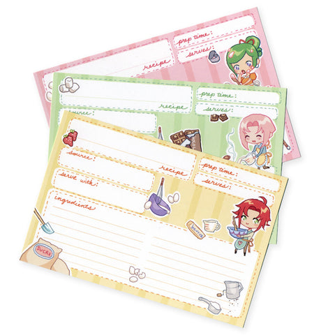 Teahouse Recipe Cards