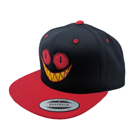 Time's Up Black & Red Snapback *LIMITED RUN*